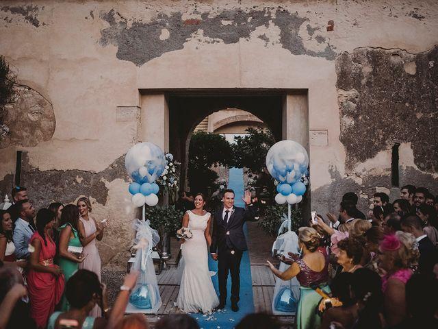 La boda de Germán y Cristina en Huercal De Almeria, Almería 53