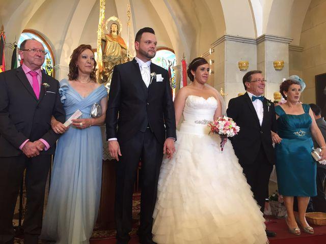 La boda de Adrián   y Giovanna   en Sax, Alicante 4