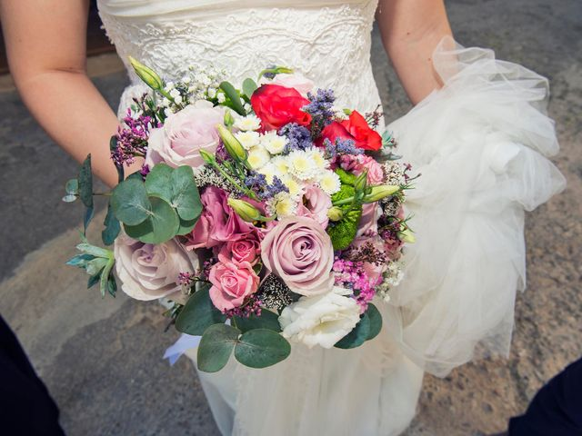 La boda de Carlos y Leticia en Cretas, Teruel 13