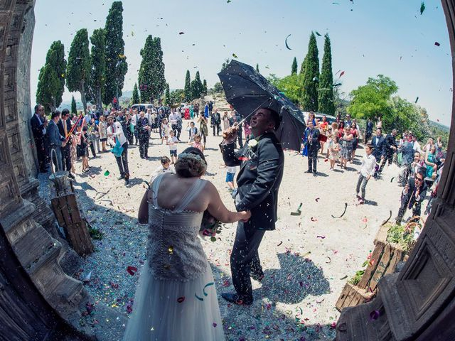 La boda de Carlos y Leticia en Cretas, Teruel 19