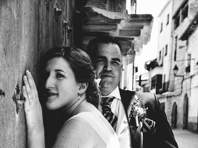 La boda de Carlos y Leticia en Cretas, Teruel 22
