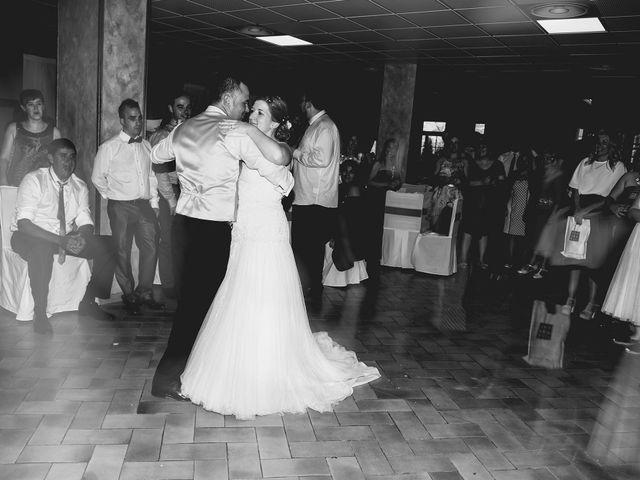 La boda de Carlos y Leticia en Cretas, Teruel 33