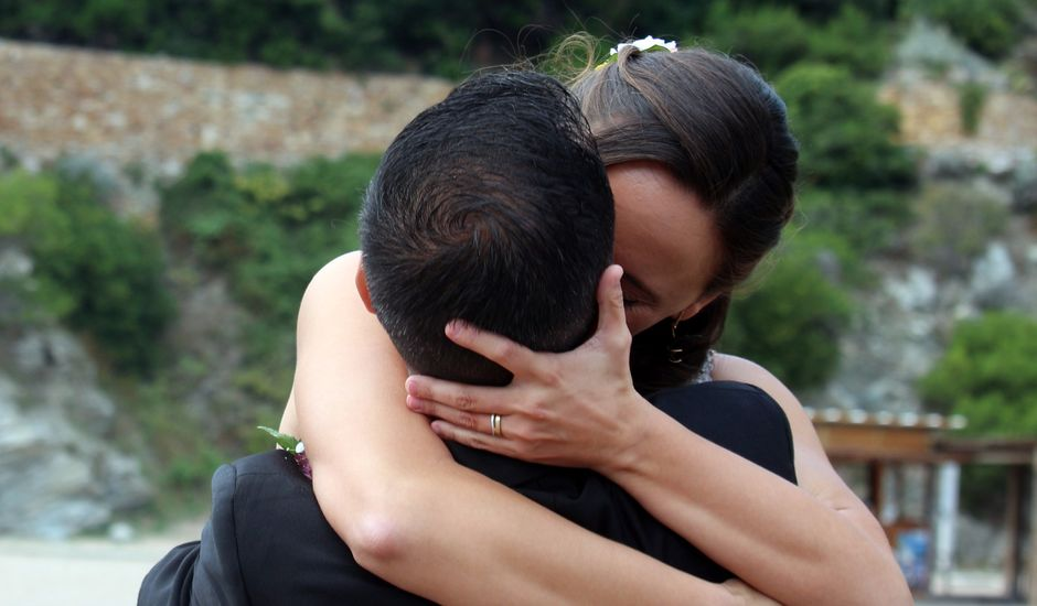 La boda de Joaquín  y Mireia en Platja De Sa Riera, Girona