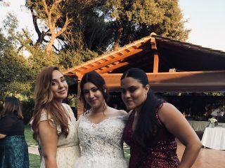 La boda de Laura vives  y Alessandro Alvarado  2