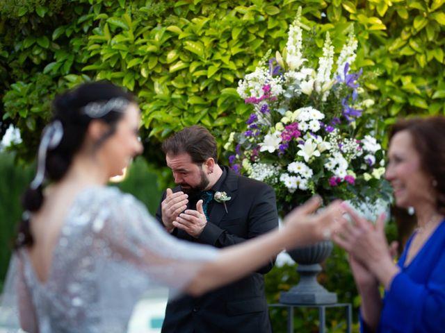 La boda de Alberto y Ana  en Museros, Valencia 20