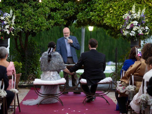 La boda de Alberto y Ana  en Museros, Valencia 23