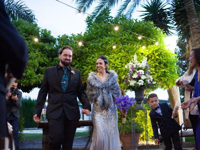 La boda de Alberto y Ana  en Museros, Valencia 30