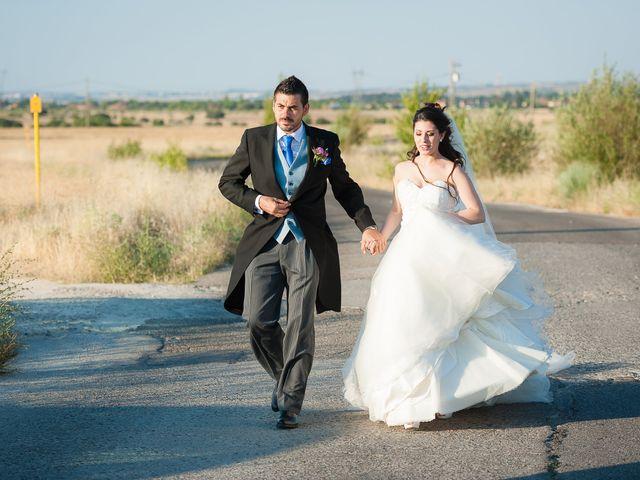 La boda de Alvaro y Tatiana en Alpedrete, Madrid 21