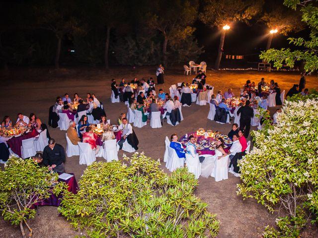 La boda de Alvaro y Tatiana en Alpedrete, Madrid 25