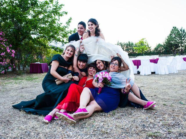 La boda de Alvaro y Tatiana en Alpedrete, Madrid 33