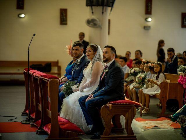 La boda de Adrián y Florentina en Algeciras, Cádiz 13