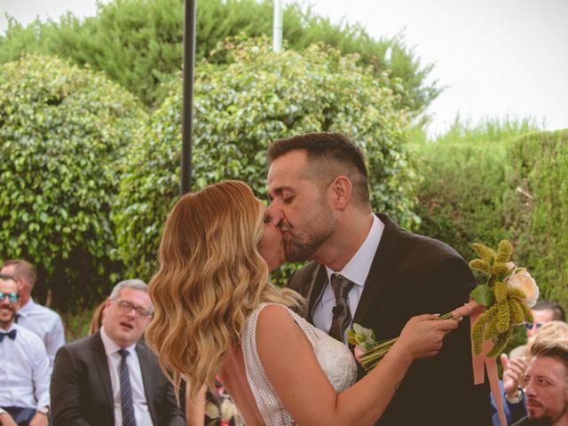 La boda de Estefanía y Abel