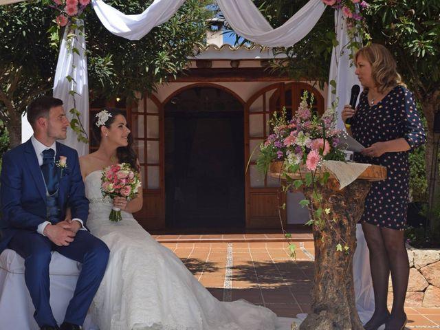 La boda de Javier  y M.Carmen  en Santa Gertrudis De Fruitera, Islas Baleares 1
