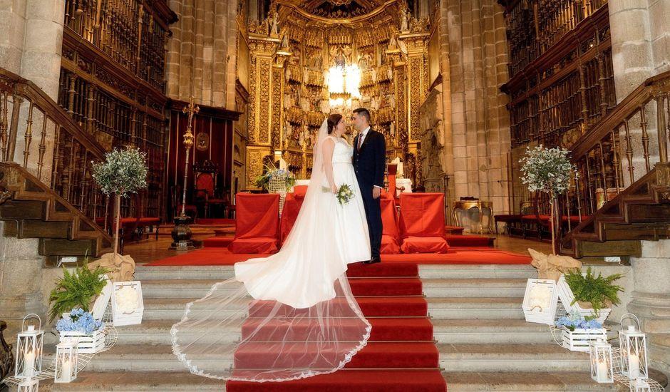 La boda de Rubén y Fany en Ourense, Orense