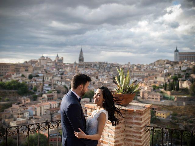 La boda de Héctor y Pamela en Toledo, Toledo 67