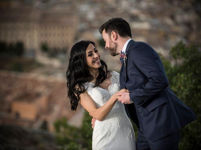 La boda de Héctor y Pamela en Toledo, Toledo 75