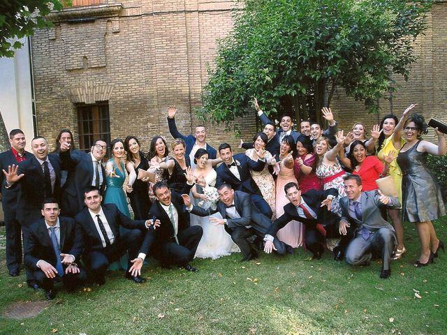 La boda de Pedro y Isabel en Zaragoza, Zaragoza 7