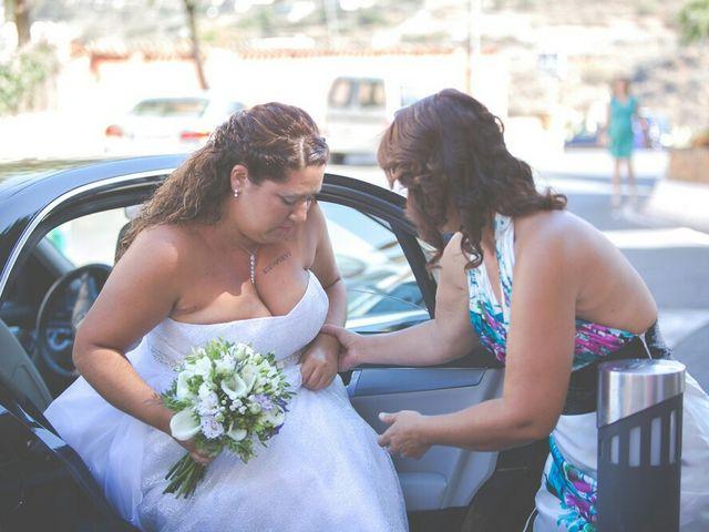 La boda de Ivan y Davinia en Valsequillo (Telde), Las Palmas 27