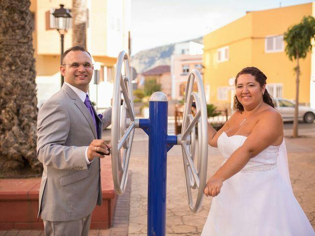 La boda de Ivan y Davinia en Valsequillo (Telde), Las Palmas 53
