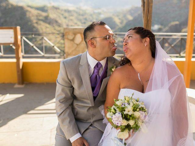 La boda de Ivan y Davinia en Valsequillo (Telde), Las Palmas 54