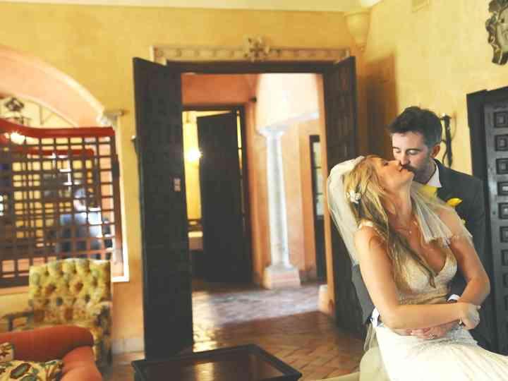La boda de Kerry y Simon