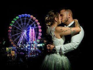 La boda de Eva y Adrián