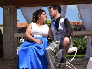 La boda de Virginia y Diego