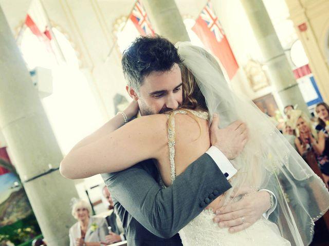 La boda de Simon y Kerry en San Martin Del Tesorillo, Cádiz 15