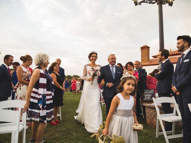 La boda de Jose y María en Higuera La Real, Badajoz 9