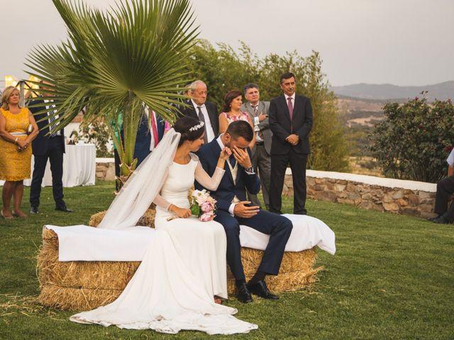 La boda de Jose y María en Higuera La Real, Badajoz 11