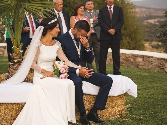 La boda de Jose y María en Higuera La Real, Badajoz 13
