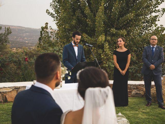 La boda de Jose y María en Higuera La Real, Badajoz 15