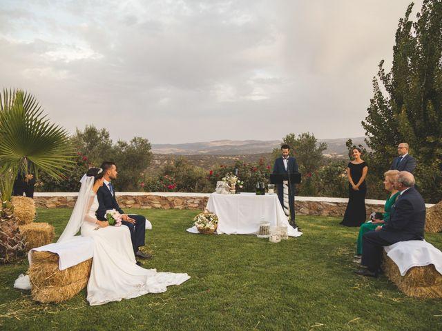 La boda de Jose y María en Higuera La Real, Badajoz 16