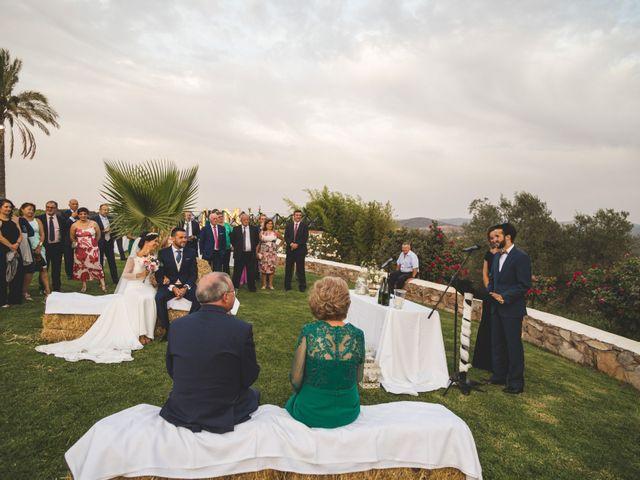 La boda de Jose y María en Higuera La Real, Badajoz 17