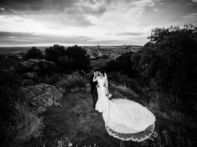 La boda de Santos y Isabel en Toledo, Toledo 34