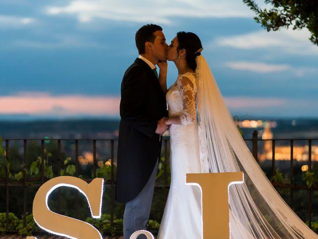 La boda de Santos y Isabel en Toledo, Toledo 46