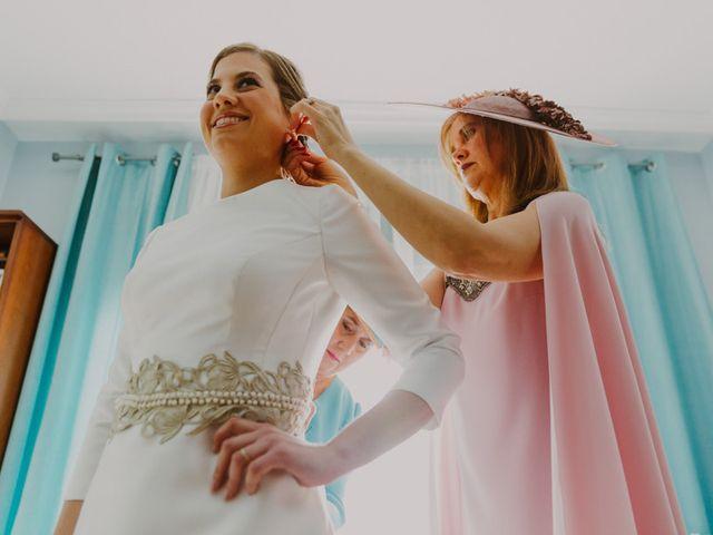 La boda de Fran y África en Manzanares, Ciudad Real 9