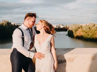 La boda de Marilena y David