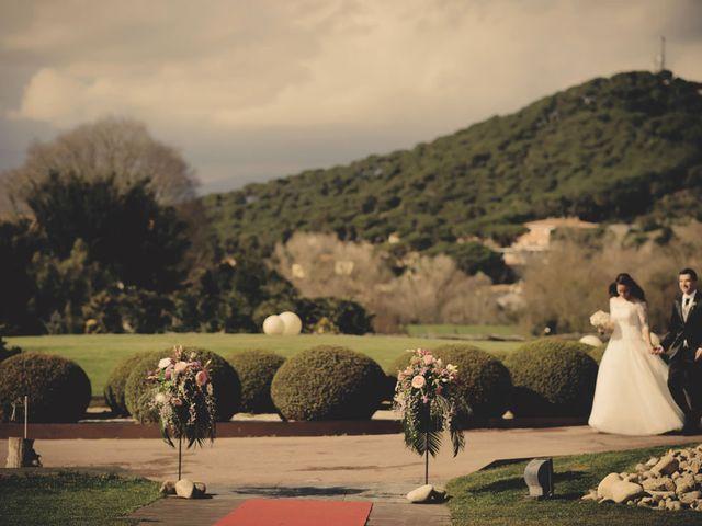 La boda de Oriol y Marta en Sant Fost De Campsentelles, Barcelona 39