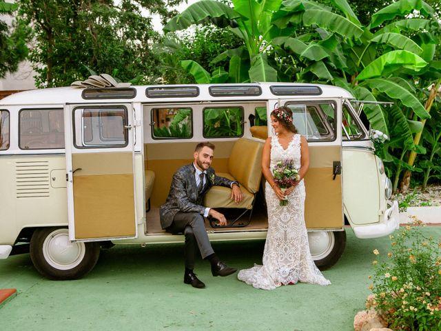 La boda de Carlos y Tamara en L' Ènova, Valencia 37