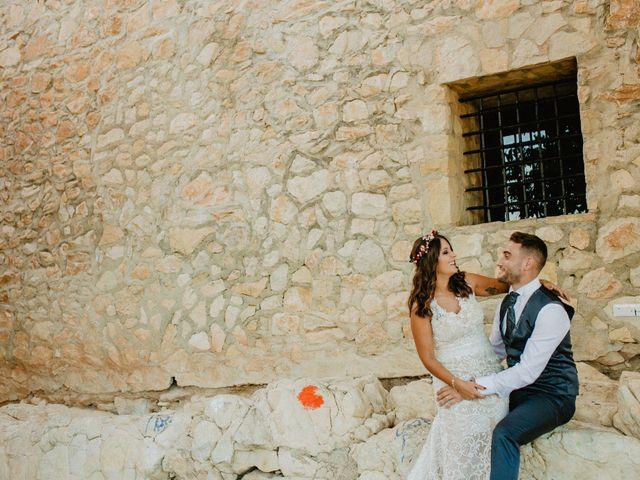 La boda de Carlos y Tamara en L' Ènova, Valencia 50