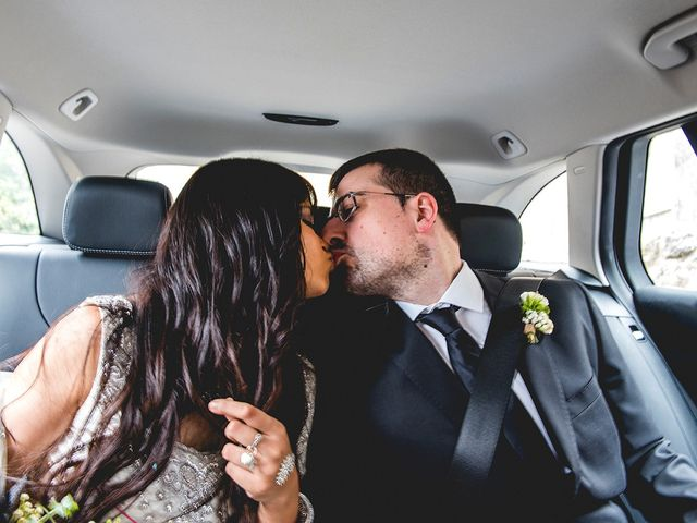 La boda de Ivan y Yamini en Mougas, Pontevedra 35