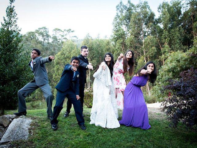 La boda de Ivan y Yamini en Mougas, Pontevedra 71