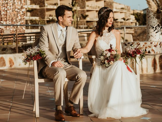 La boda de Rubén y Carolina en San Bartolome De Tirajana, Las Palmas 45