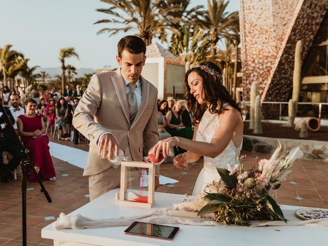 La boda de Rubén y Carolina en San Bartolome De Tirajana, Las Palmas 63