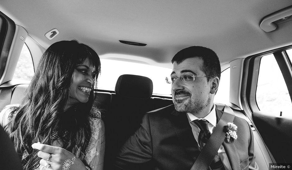 La boda de Ivan y Yamini en Mougas, Pontevedra