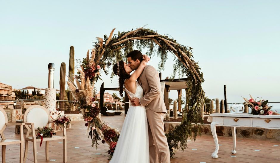 La boda de Rubén y Carolina en San Bartolome De Tirajana, Las Palmas