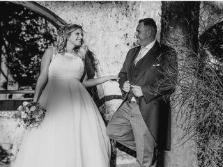 La boda de Elisabet y Aday