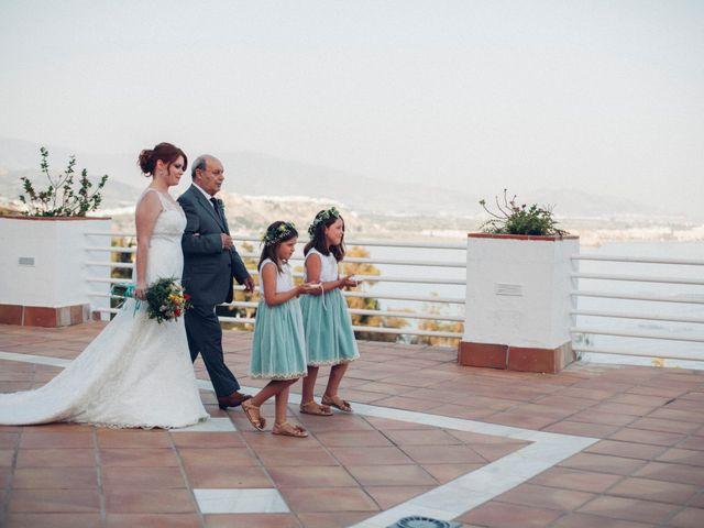 La boda de Tatiana y Miguel en Salobreña, Granada 1