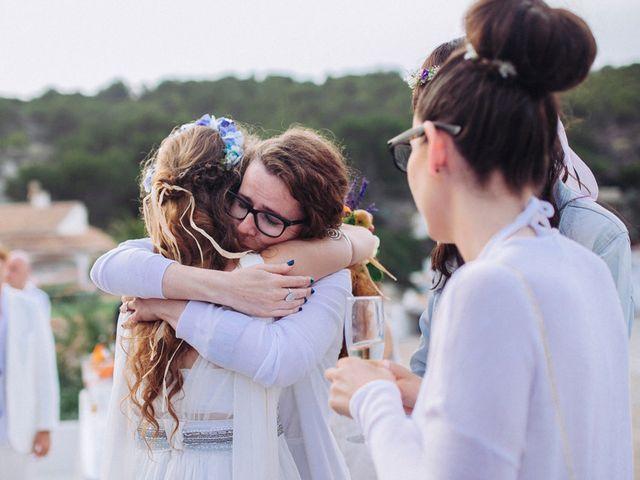 La boda de Álvaro y Paula en Xàbia/jávea, Alicante 40